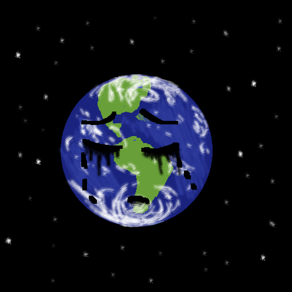 crying earth