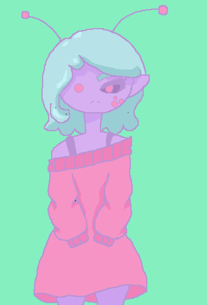 Alexia the alien by WarriorTrash