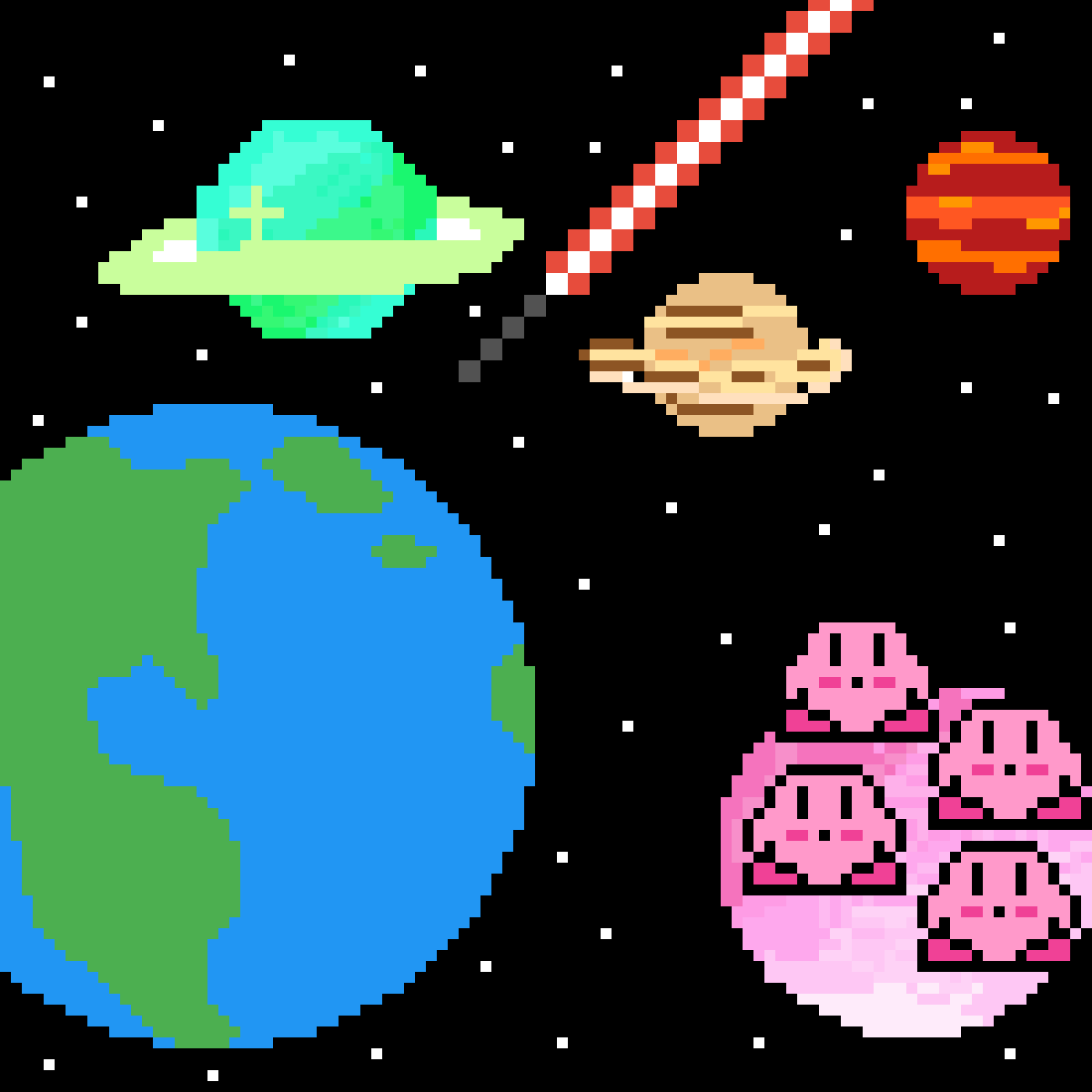planet kirby by Parkour