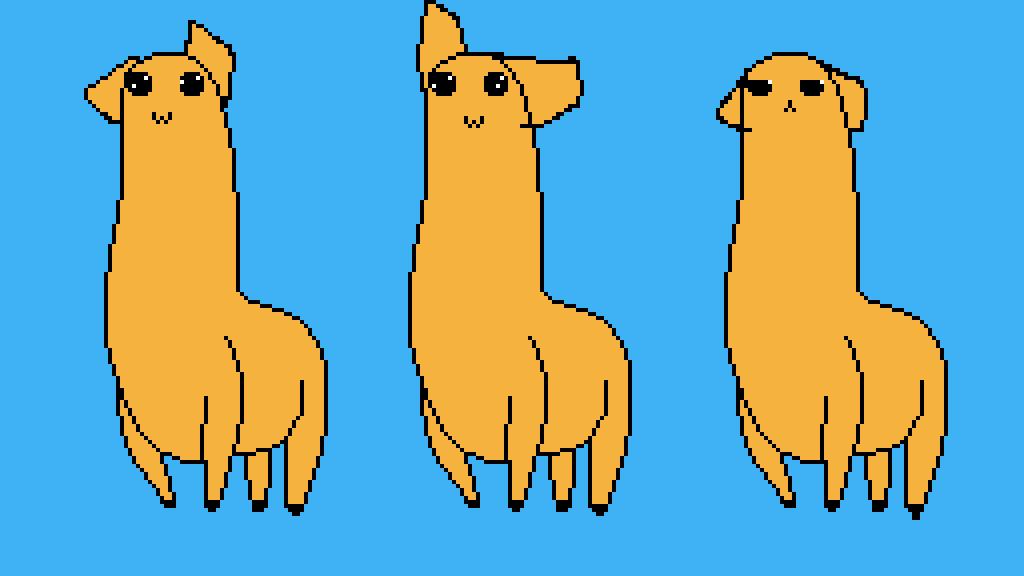 main-image-cute llama kawia llama meh llama  by Abcd123d