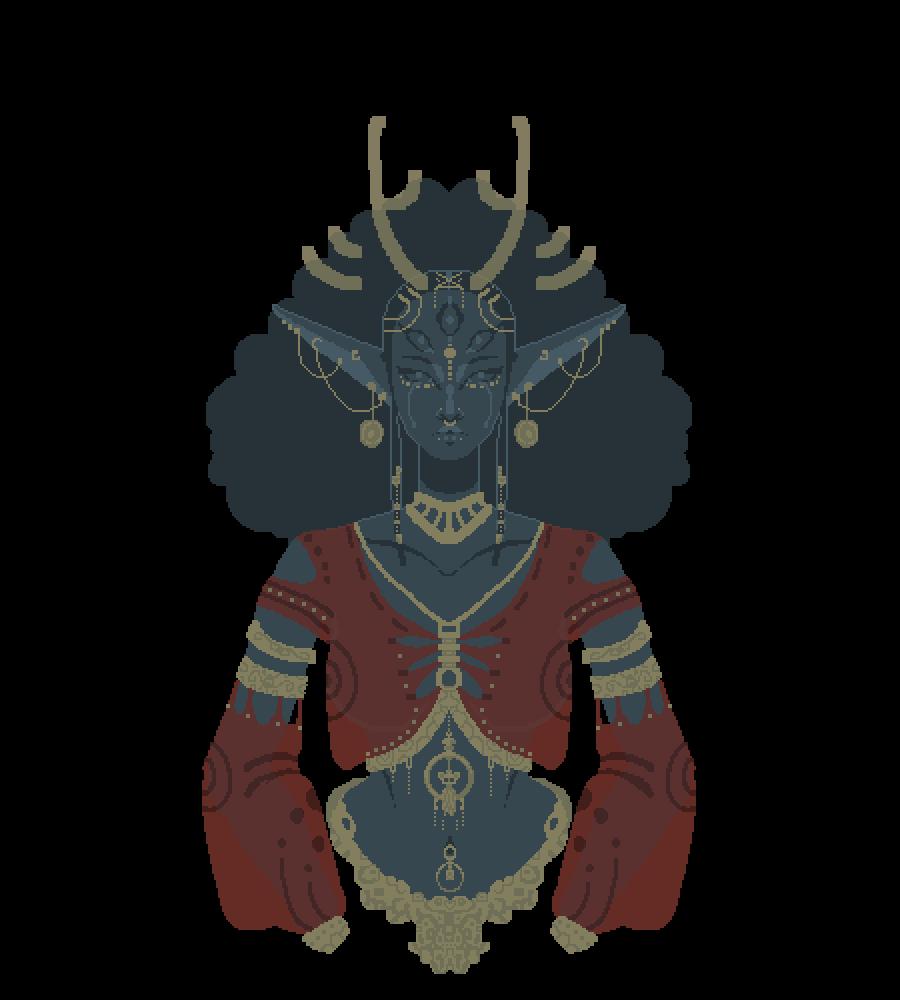The Goddess (updated) by LoneWanderer