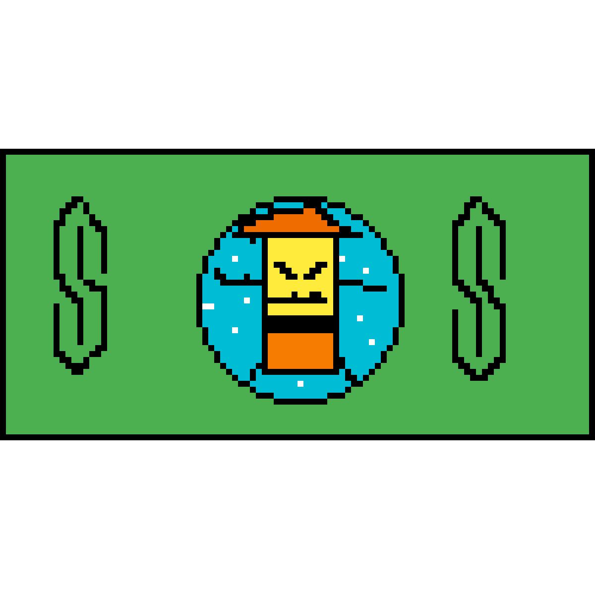 Sponge man rice money by DoomedArcher466