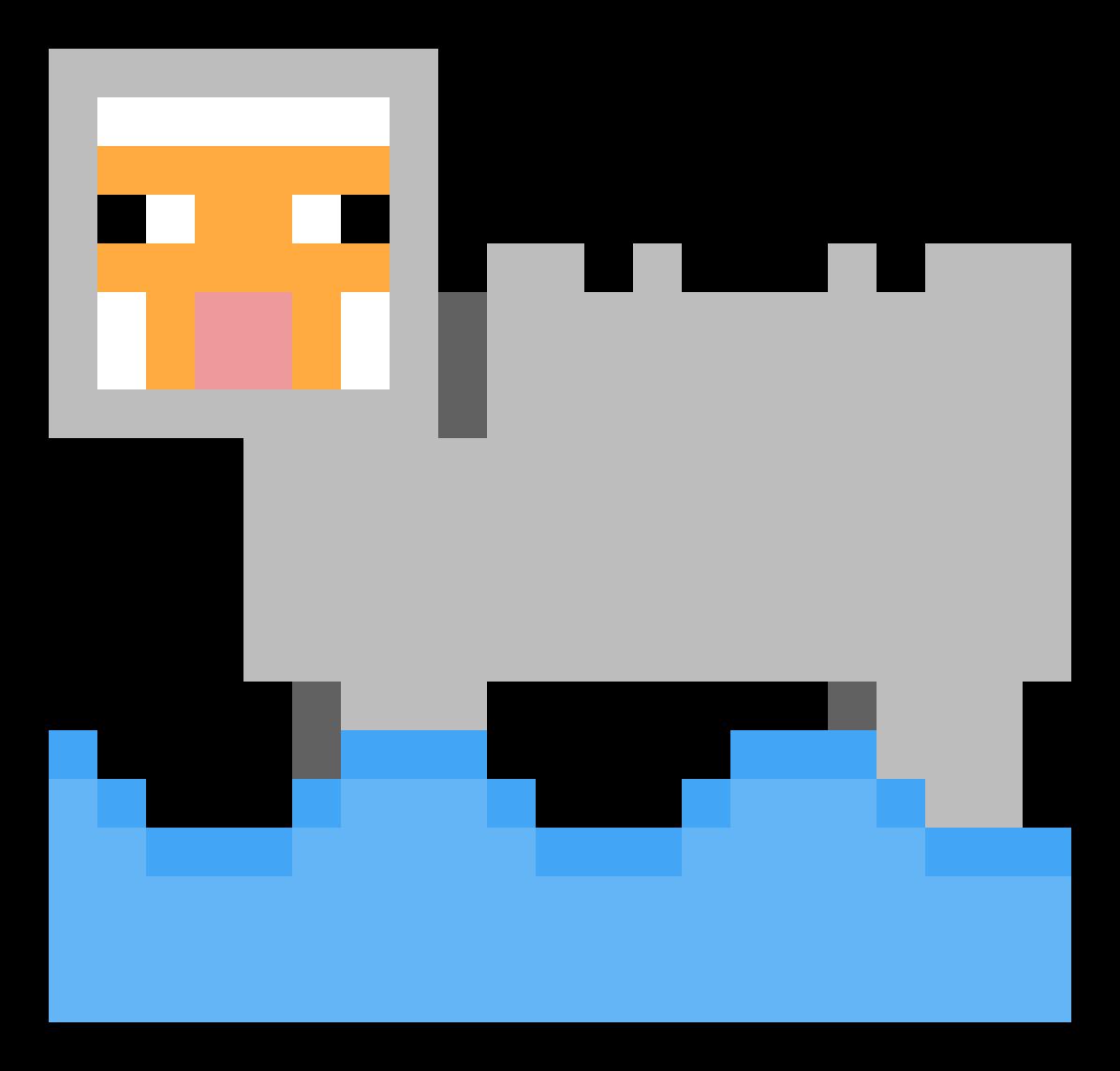 Water Sheep by BananaManPV