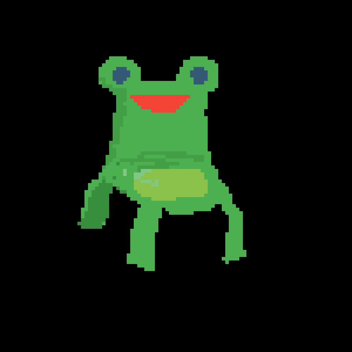 Pixilart Froggy Chair By Buttercup Cloud