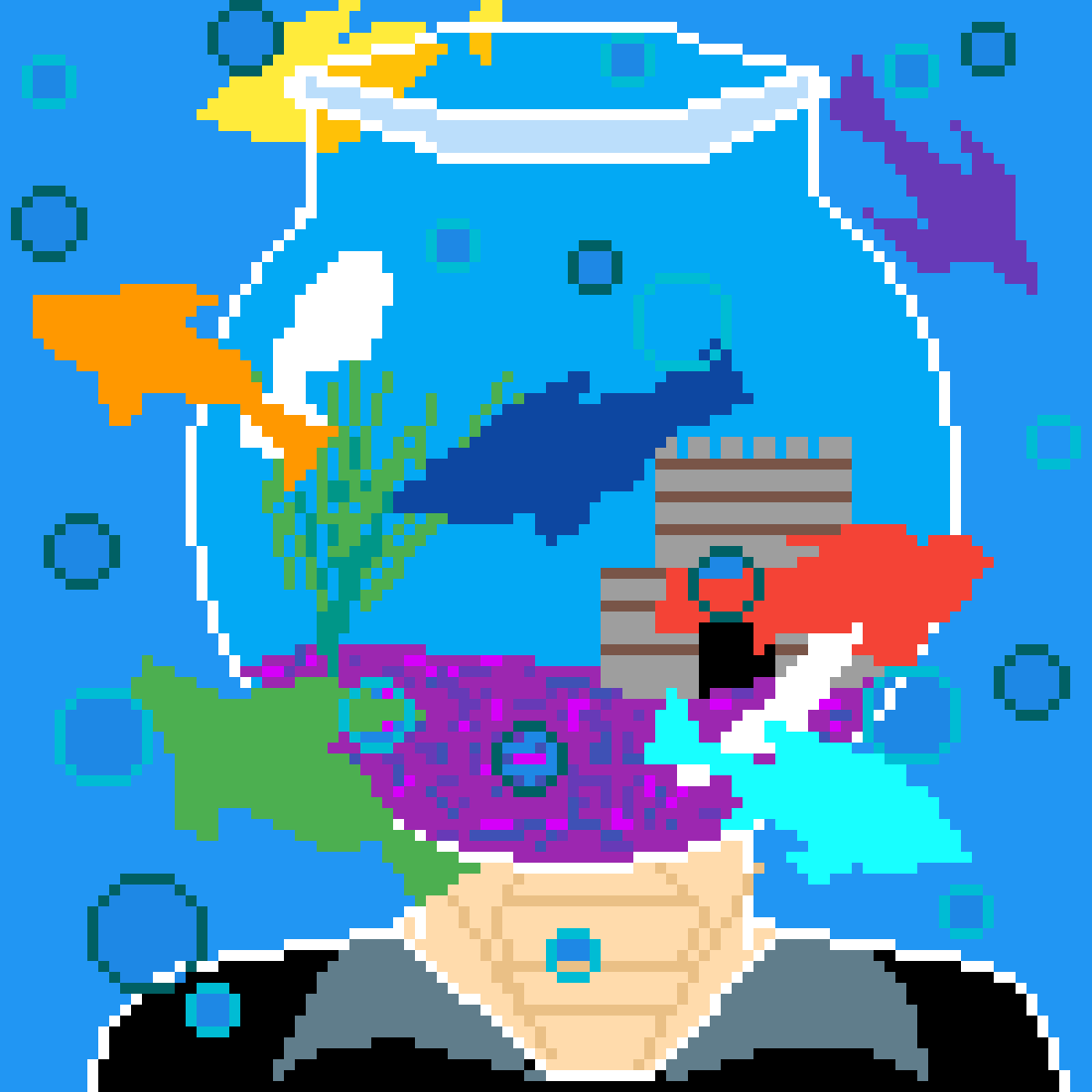 main-image-The Fishbowl Mind  by DraconicWench