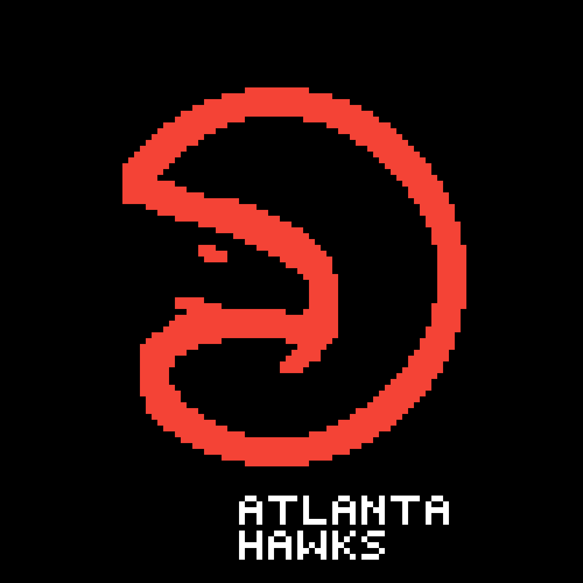 Atlanta Hawkas by Slowpoke