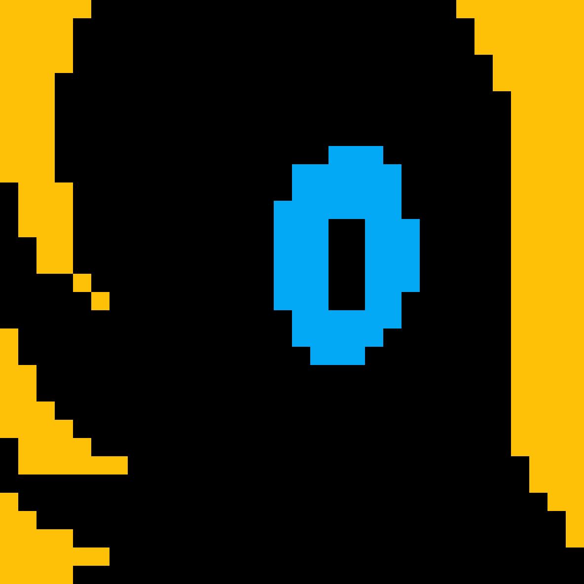 Simple Pixel Eye by Steph-Draws