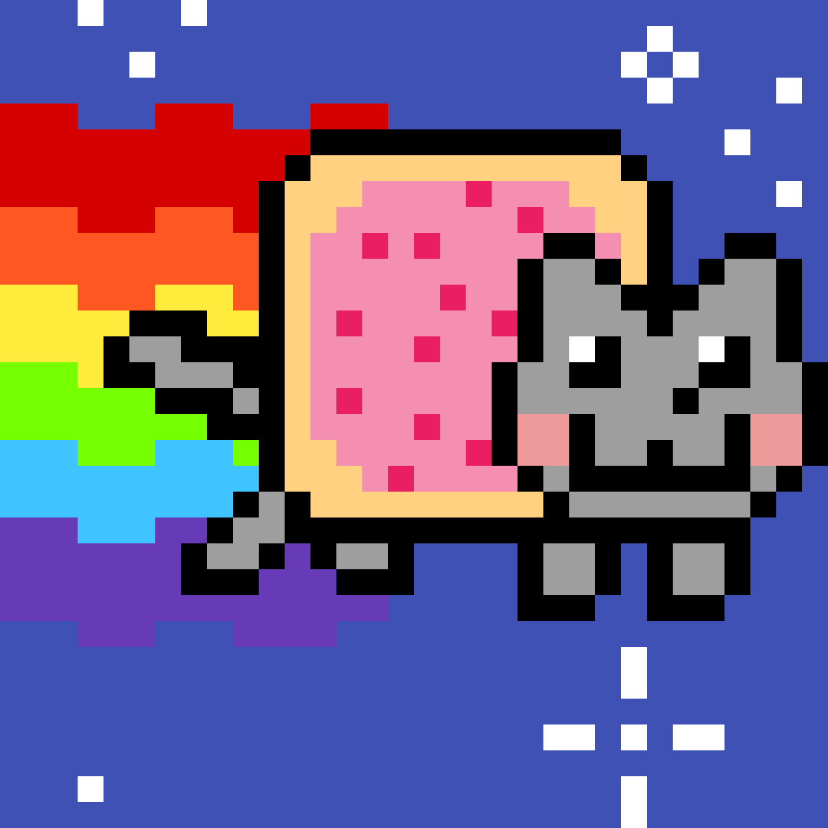 Nyan Cat by Musicalex