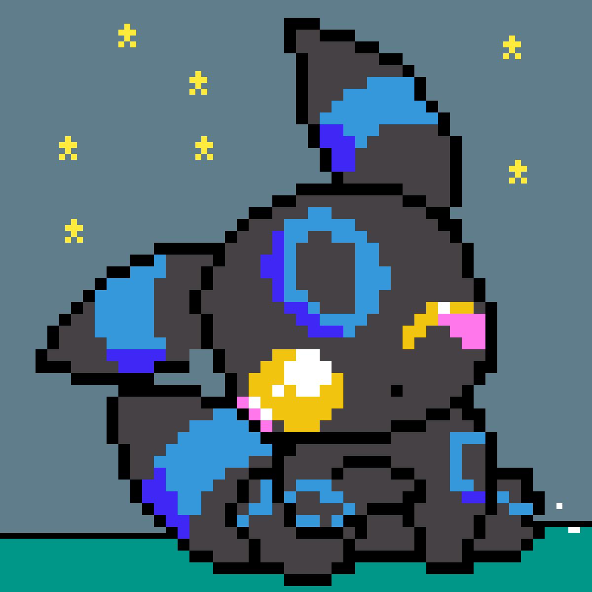 Shiny Umbreon by NinjaAce101