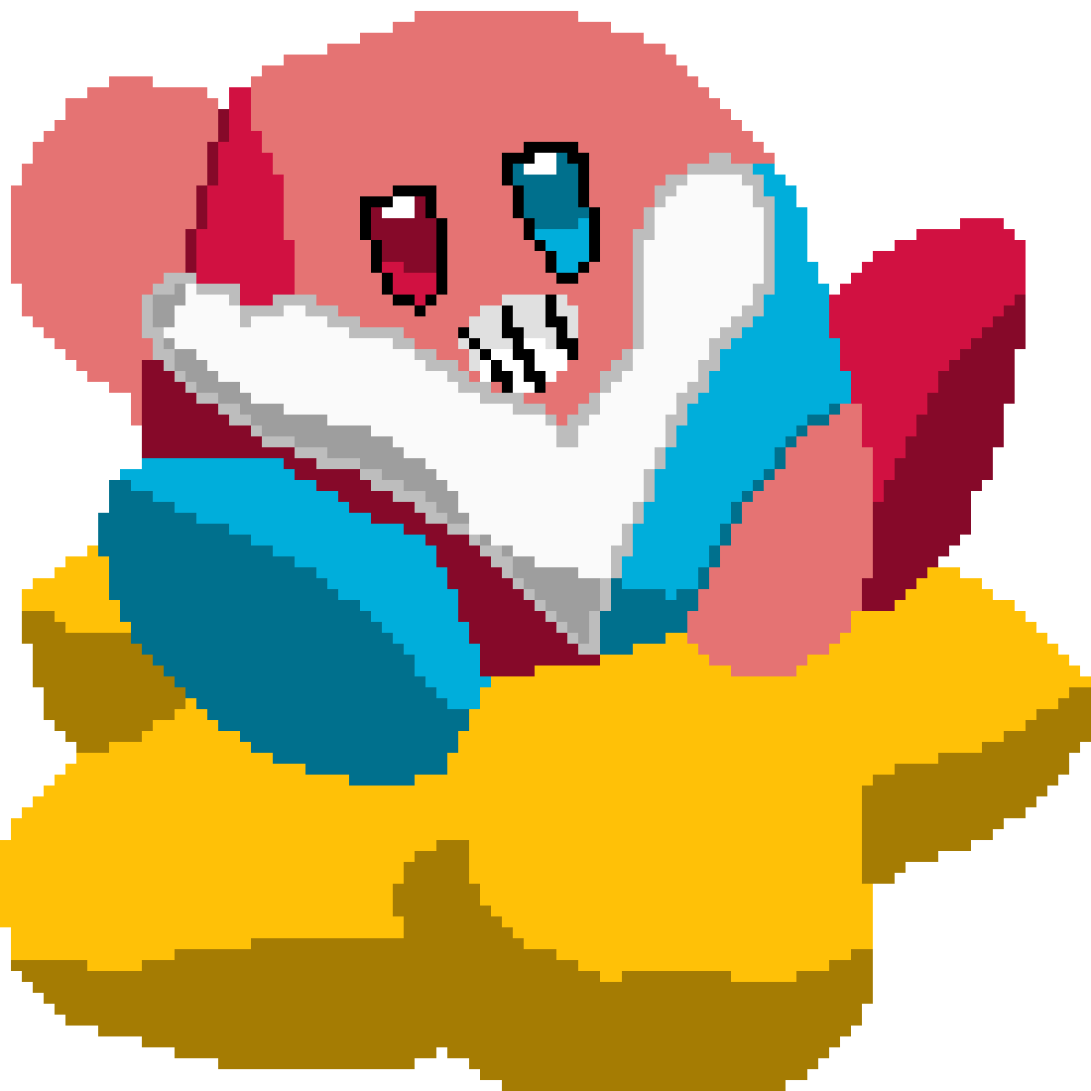 shy kirby by itsmeAthrunHype