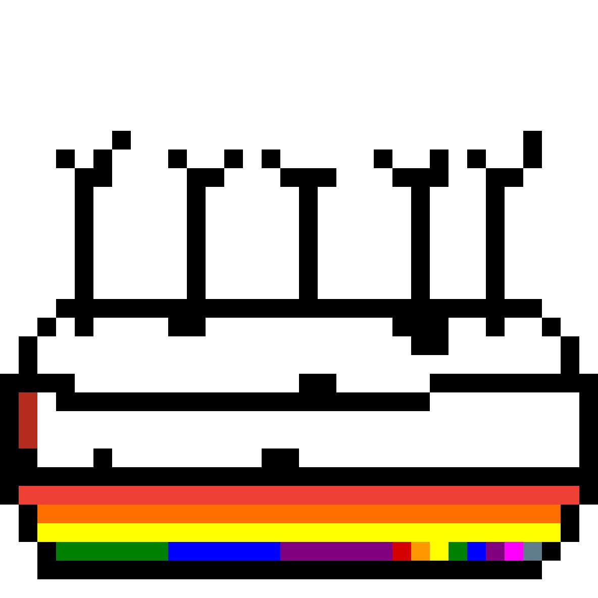 Rainbow cake by urjgnevfskmD