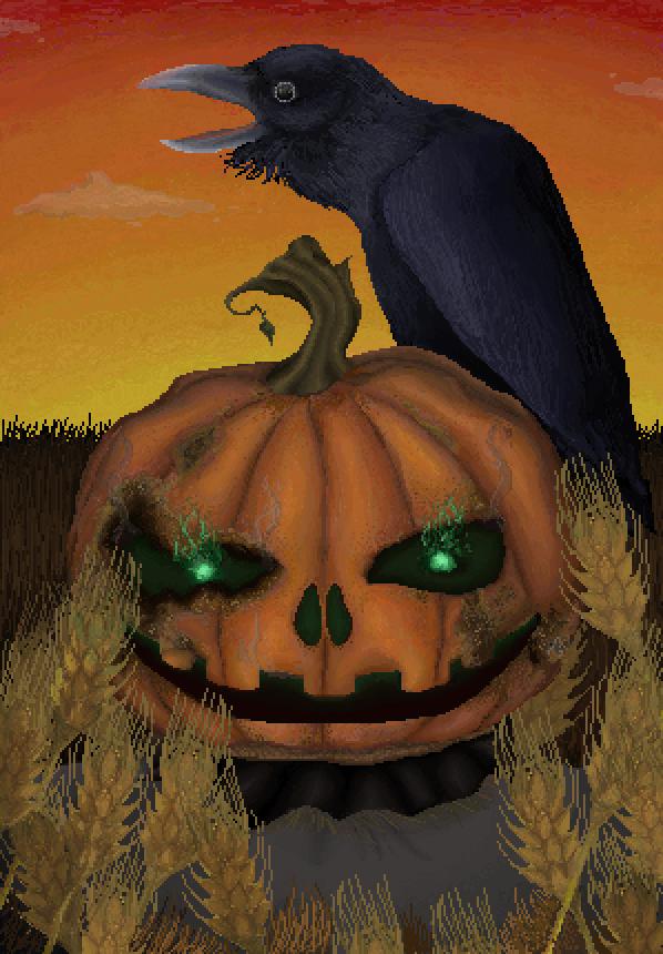 Spooktober: Halloween Contest by Aldik