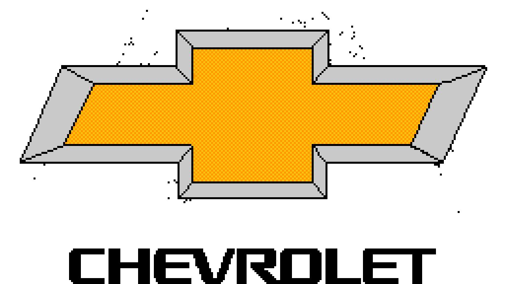 Pixilart Chevrolet Logo By Amking100