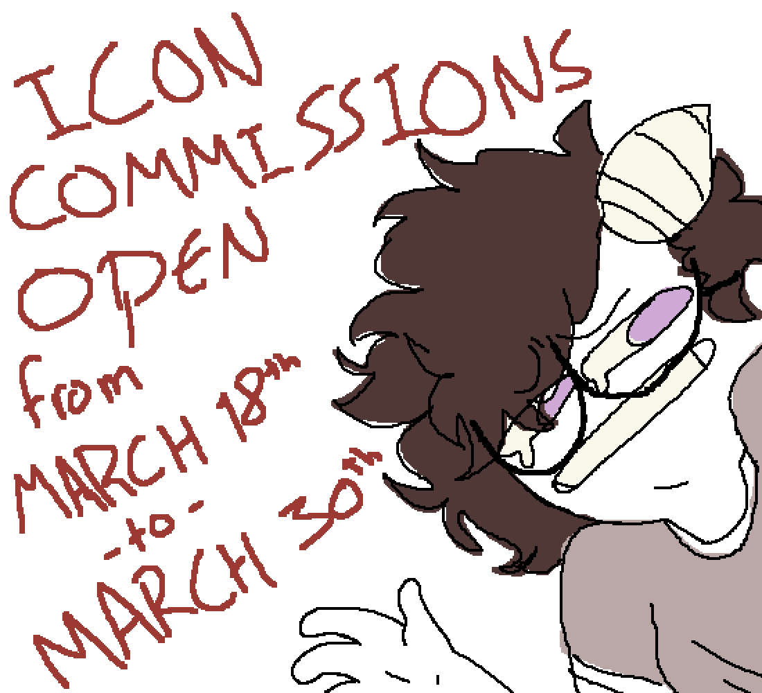 icon commissions open.. by GalacticMistake