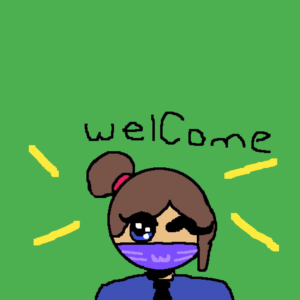 UwU meh welcome signnnnn by Bongo