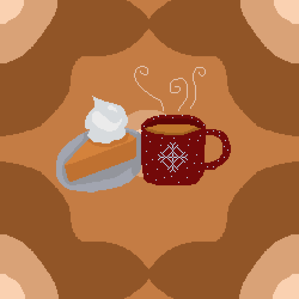 Afternoon coffee by Pixil-Potato