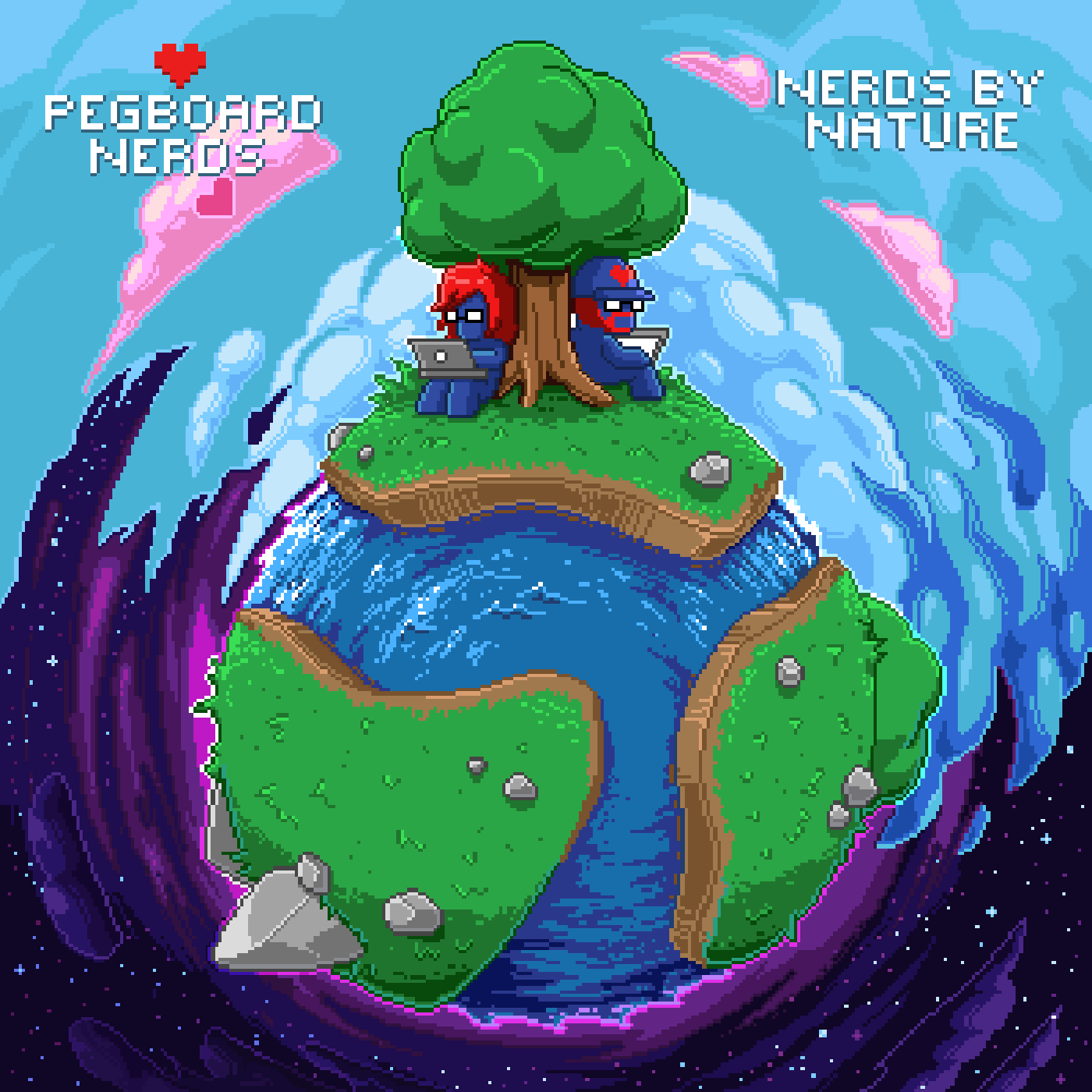 Pegboard Nerds - Nerds By Nature by YellowPizza