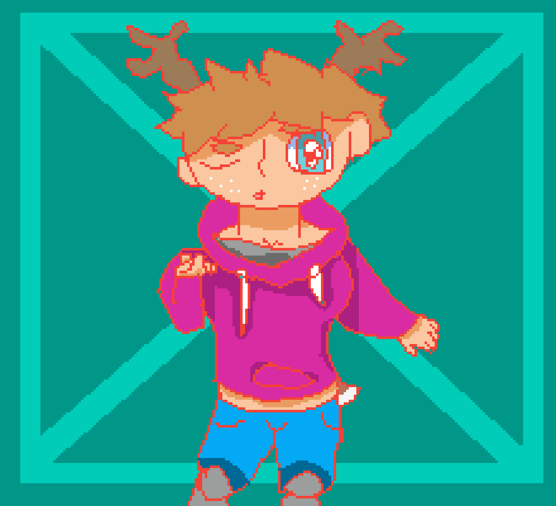 a deer person