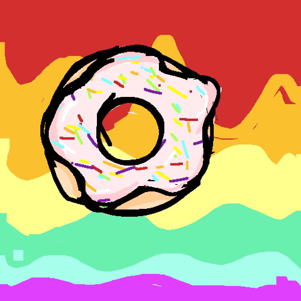 donut by meakachoo-boi