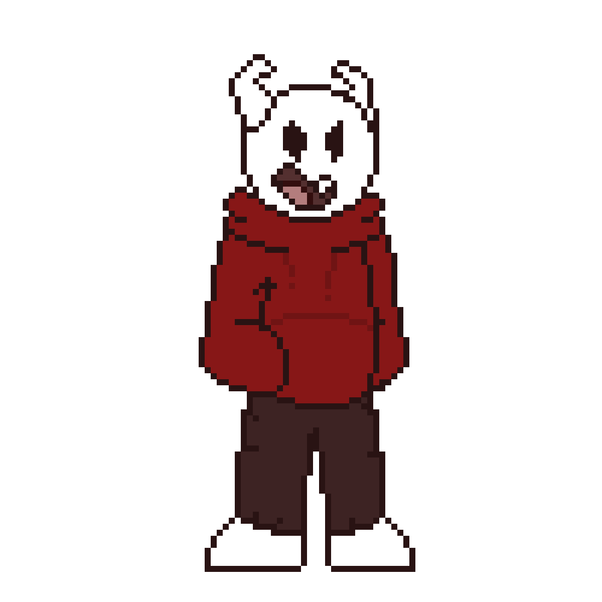 """I'm Something Else."" (UT Battle Sprite Style)"