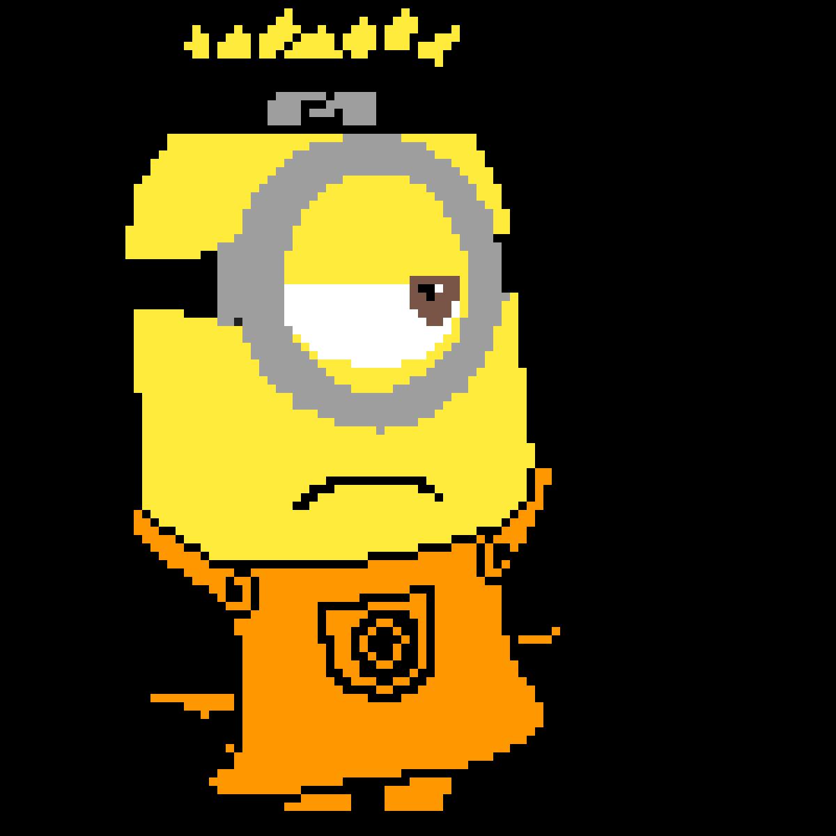 Pixilart Joke My Minionnaruto Oc By Trainerred4
