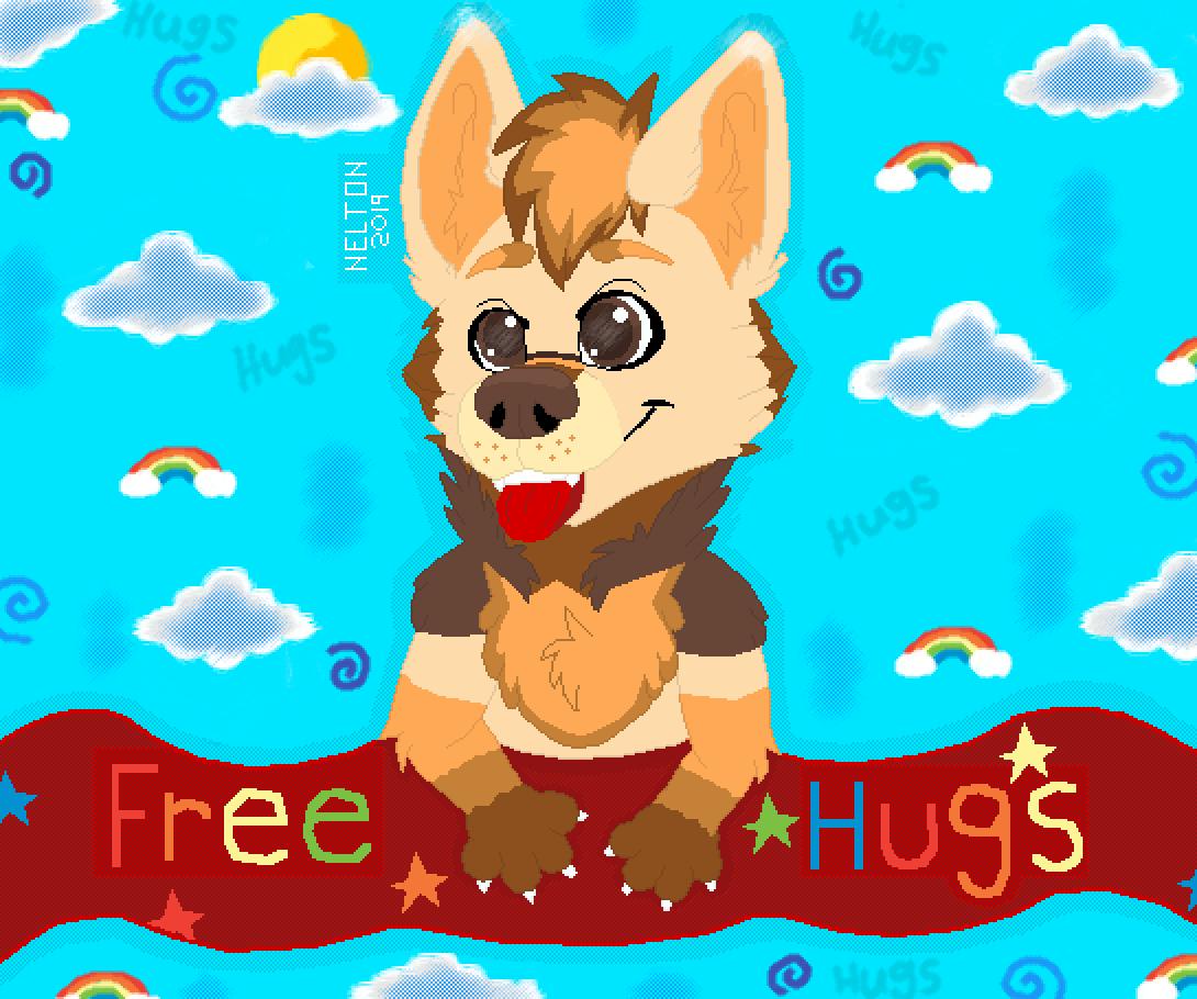 Free Hugs :3 by NELTON