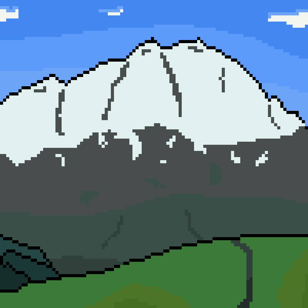 Mountain side by JP-Hickey