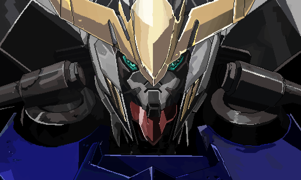 main-image-Gundam Barbatos  by Kielko