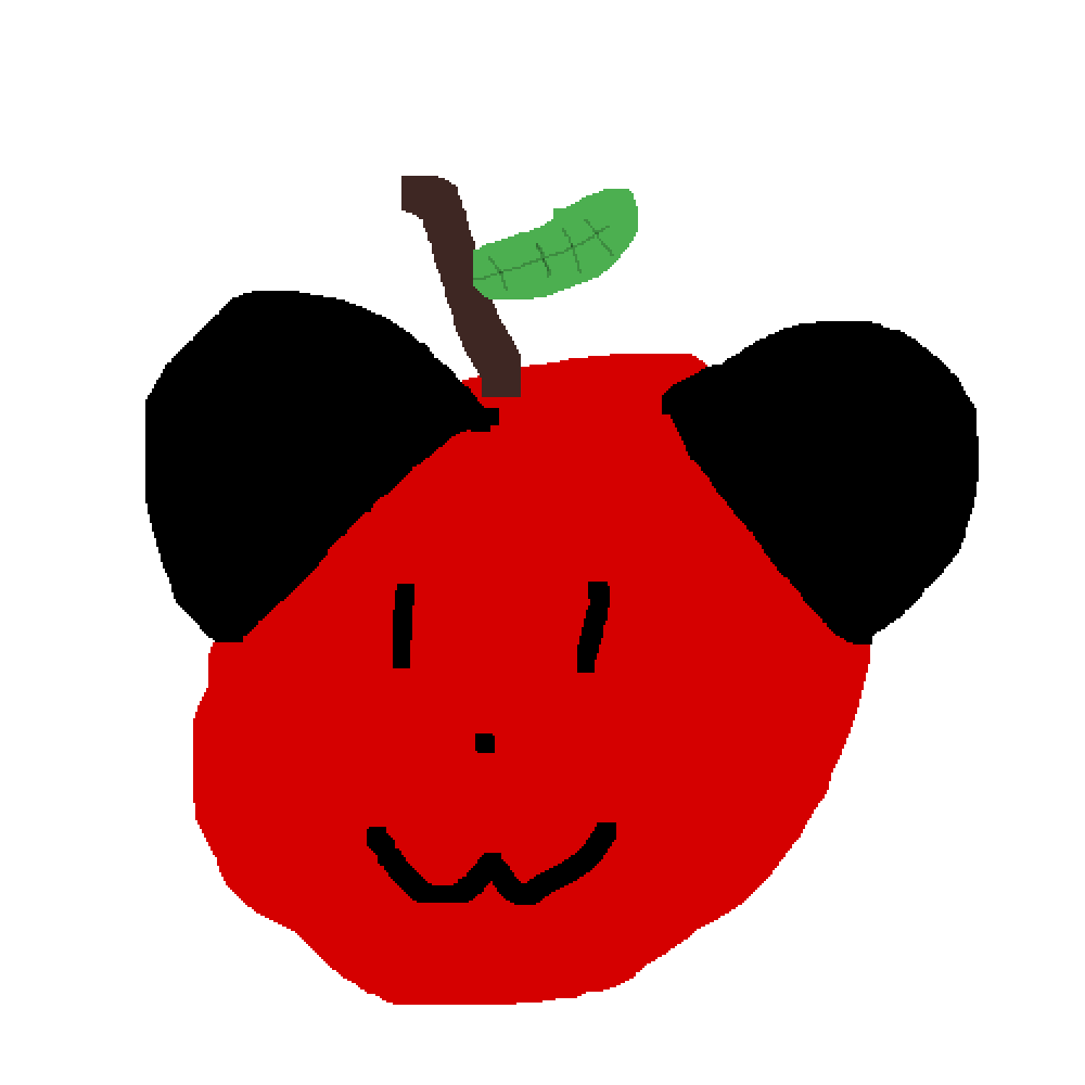 Mickey Mouse is an apple by bobthekiller