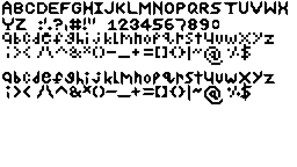 Fonts+new things by ArcticAshly