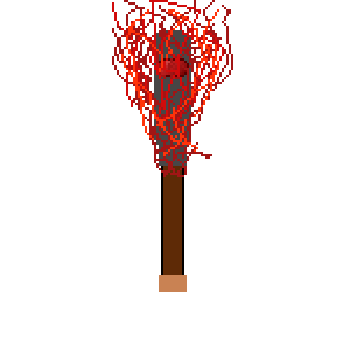 Fire mace by Skipthedude