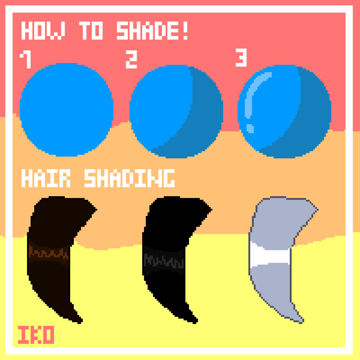 How To Shade! by IKO-PIXEL-ART