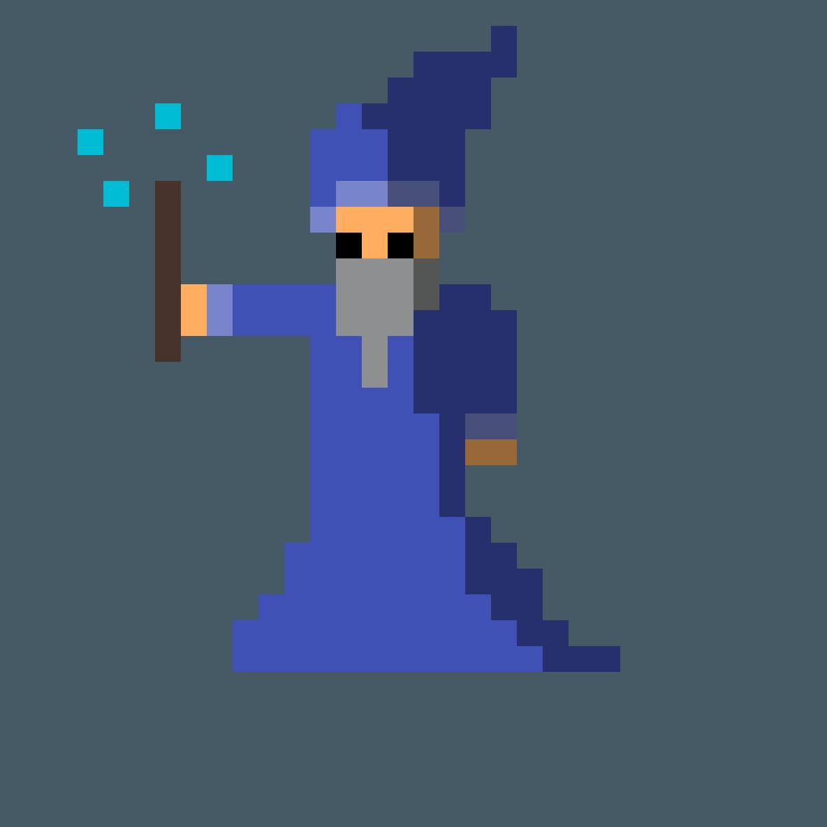 Wizard sprite by toplot123