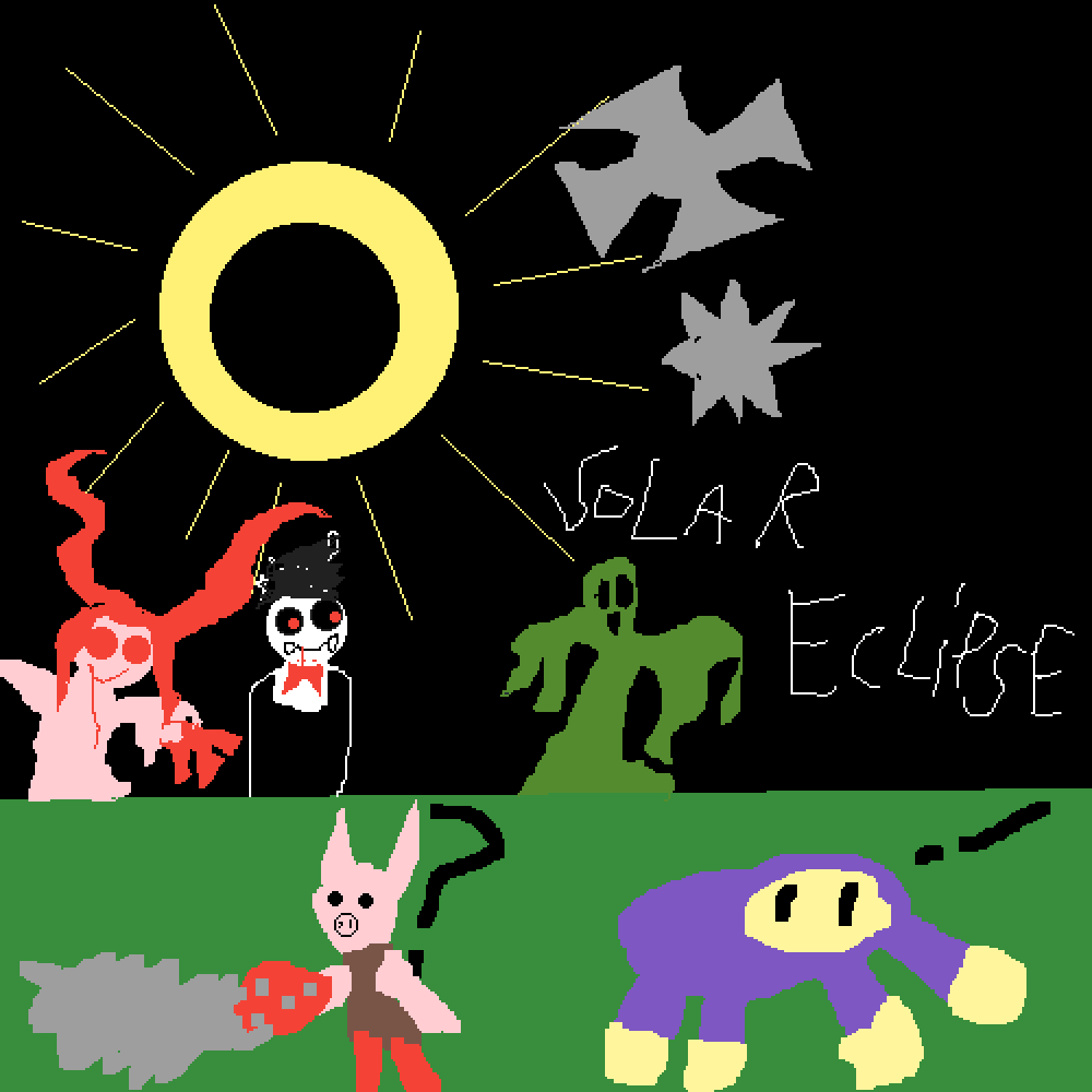 Pixilart Solar Eclipse In A Nutshell By Anonymous I'm really liking the changes i've made now. pixilart solar eclipse in a nutshell