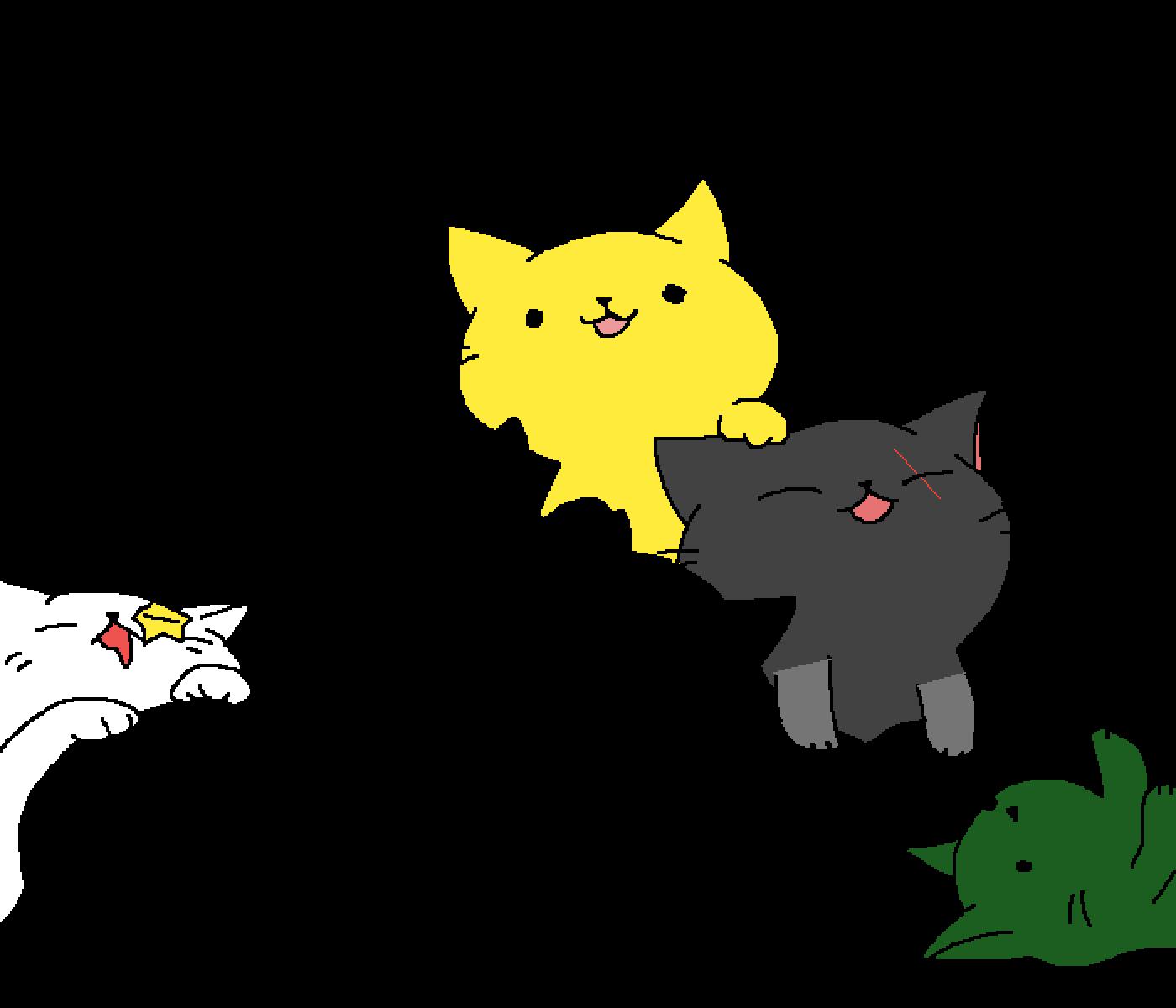 Kittys! by SupaStaryBoy