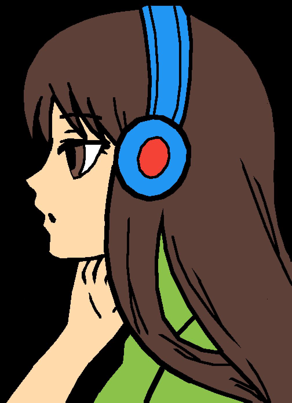 Pixilart - Anime girl Template by NinjaKiwi11