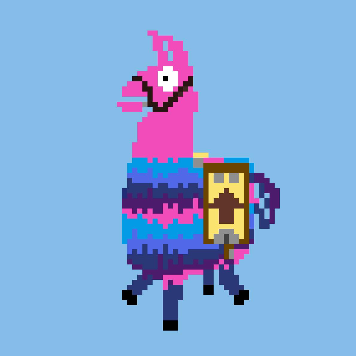Fortnite Llama by Phoenix101