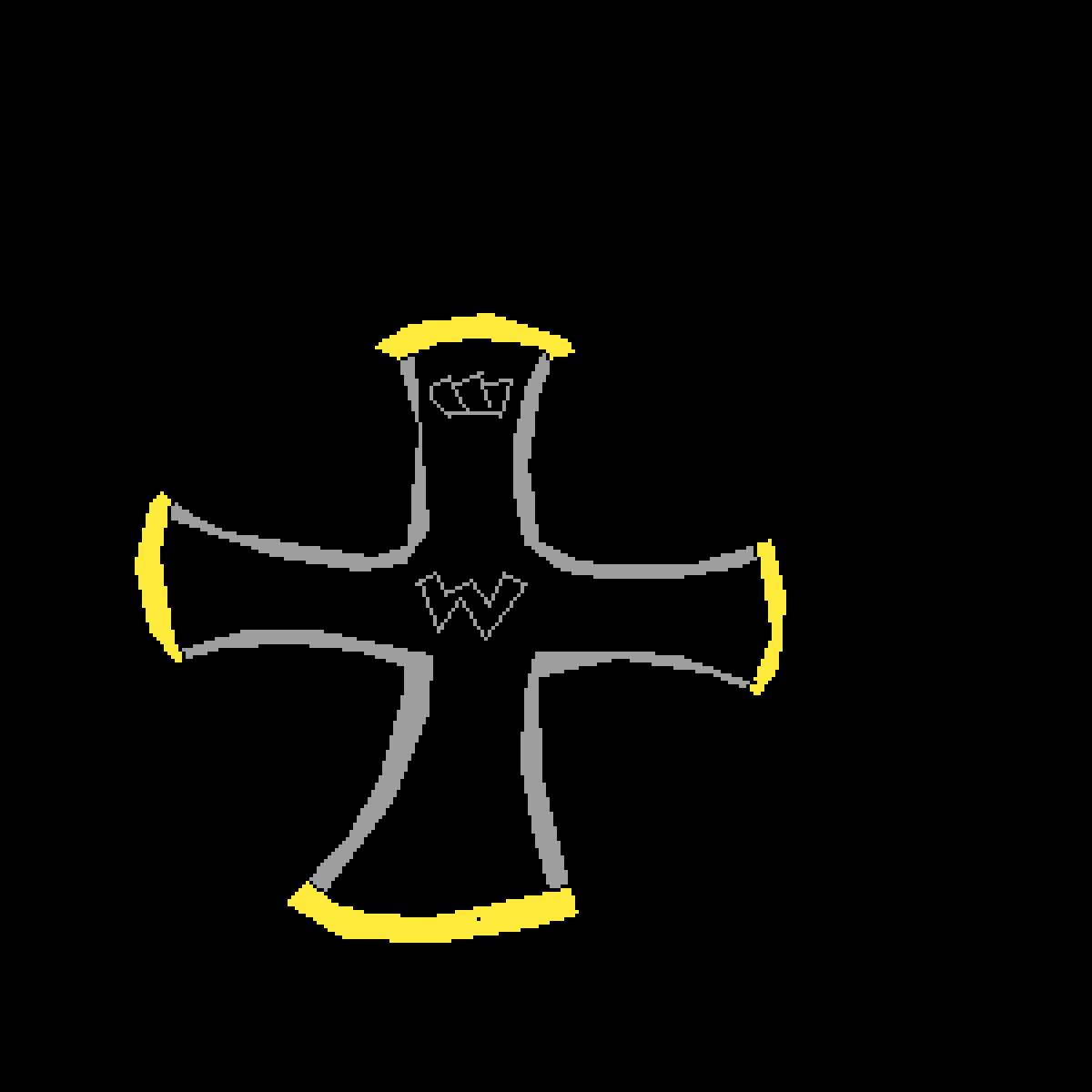 german WW1 iron cross by mum-gay