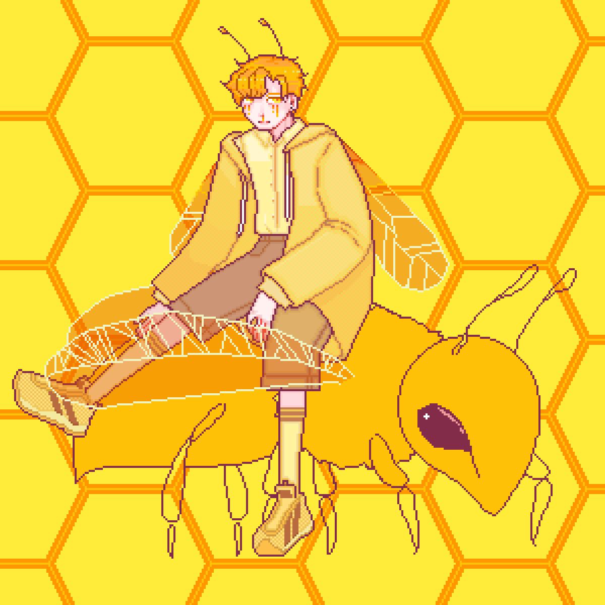 main-image-bee? (WIP)  by Stephanie