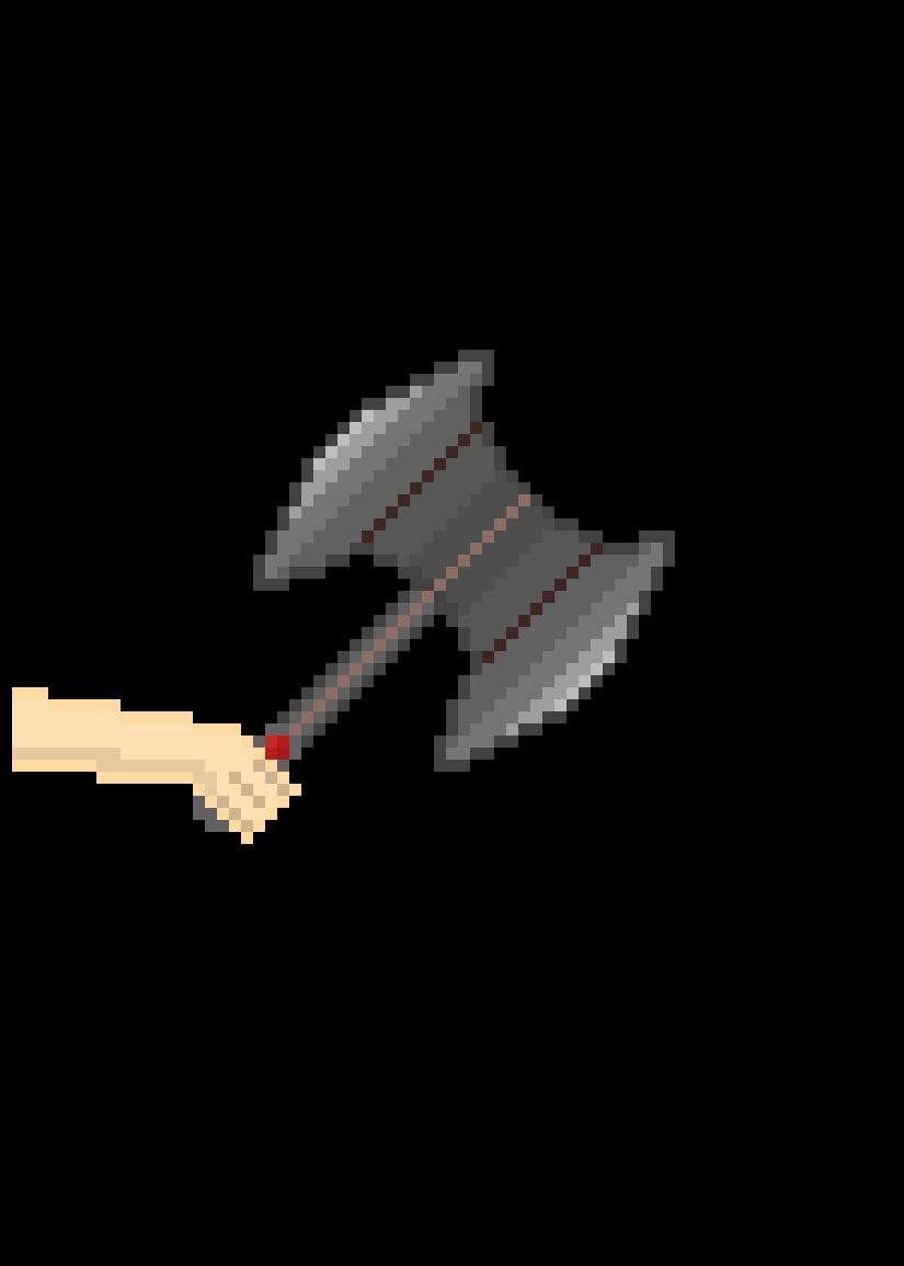 battle axe chop by bEAnz