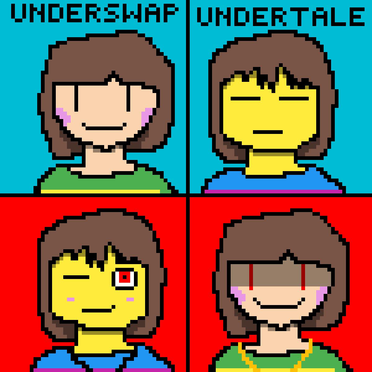 Underswap-Undertale by TheFemaleGamer