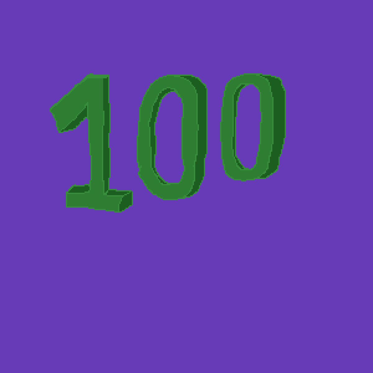 100 Follows by Ultrakittie