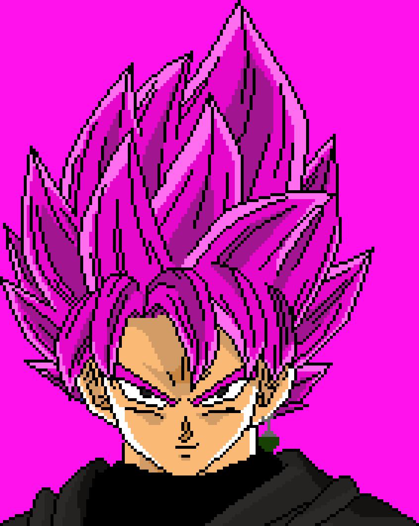 Super Saiyan Rosé Goku Black