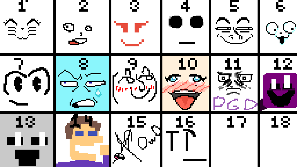Face Collab by SuperKirby