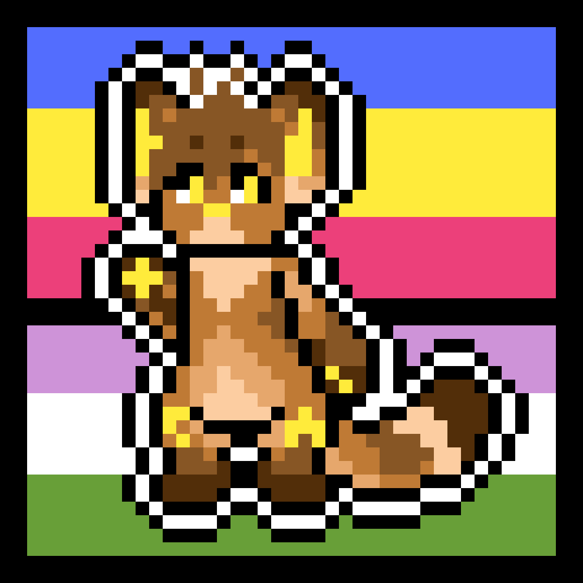REI IS BACK WITH PRIDE!!!! Sticker by Star-Is-Trash
