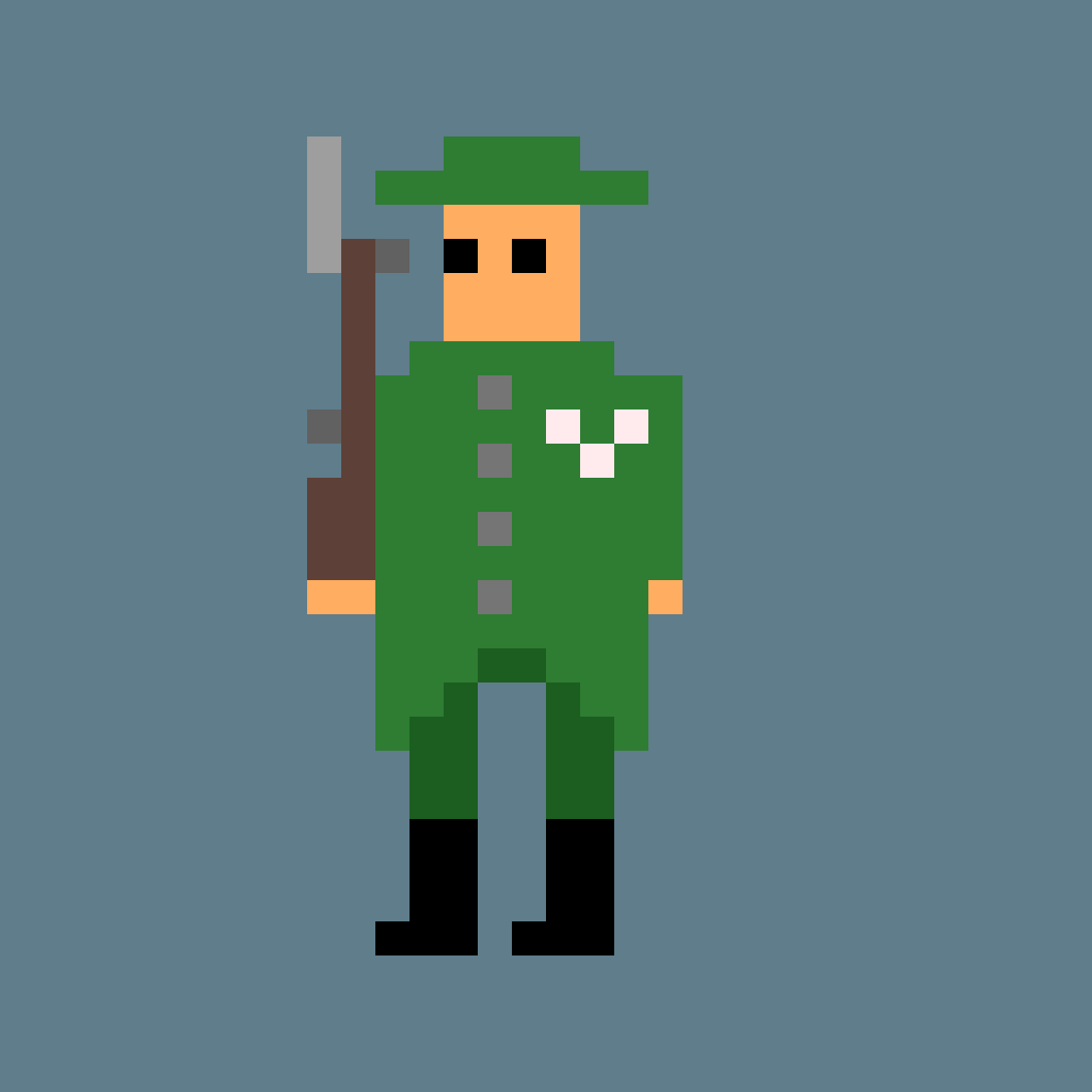 WWI solider (not historically acurate) by toplot123