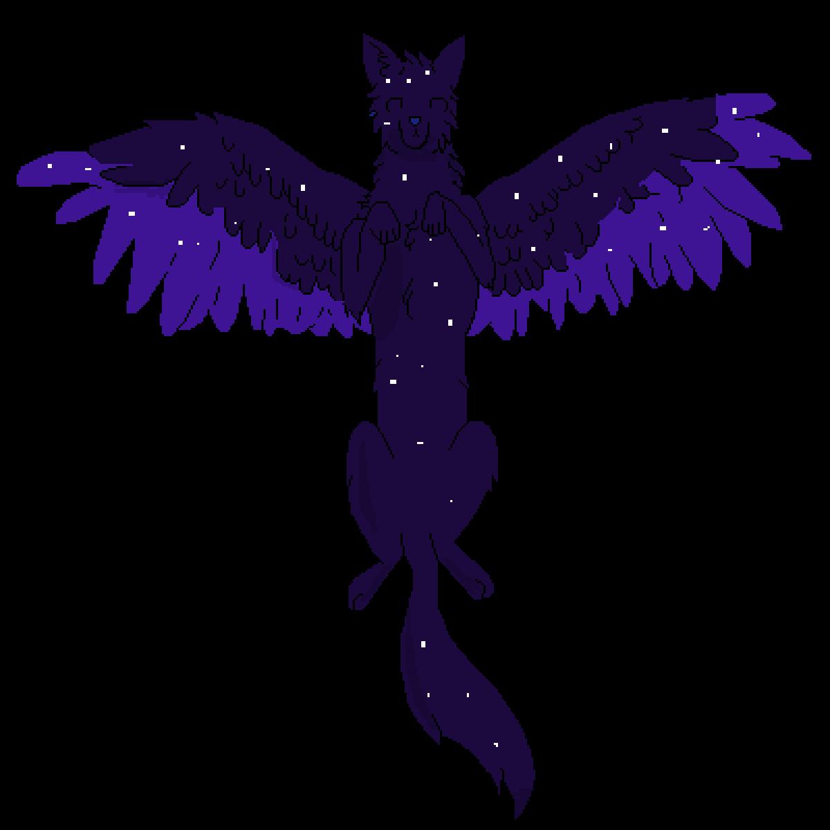 Galaxy Wolf by Spiritbelly2