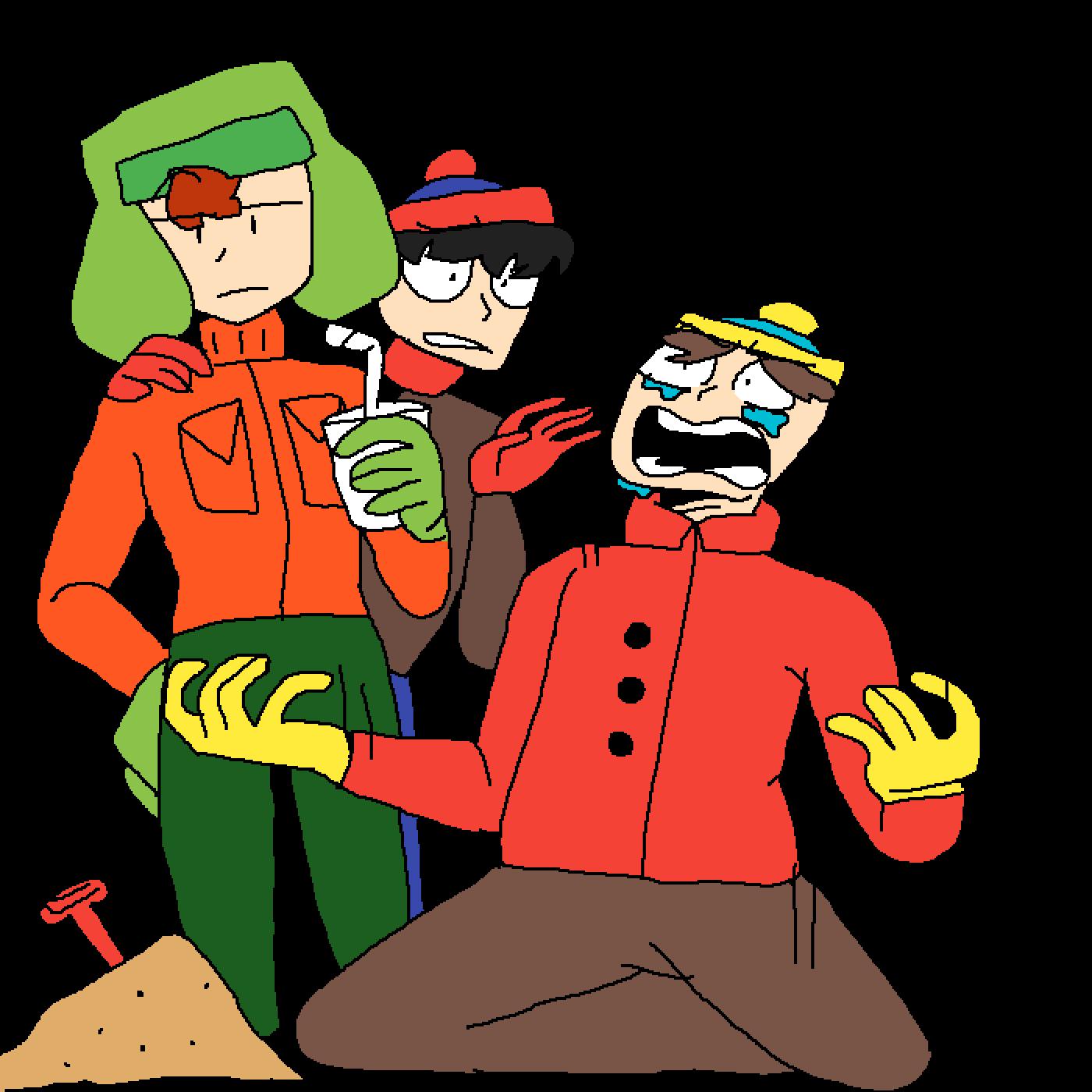 Trashy South Park Base by kiwianimations