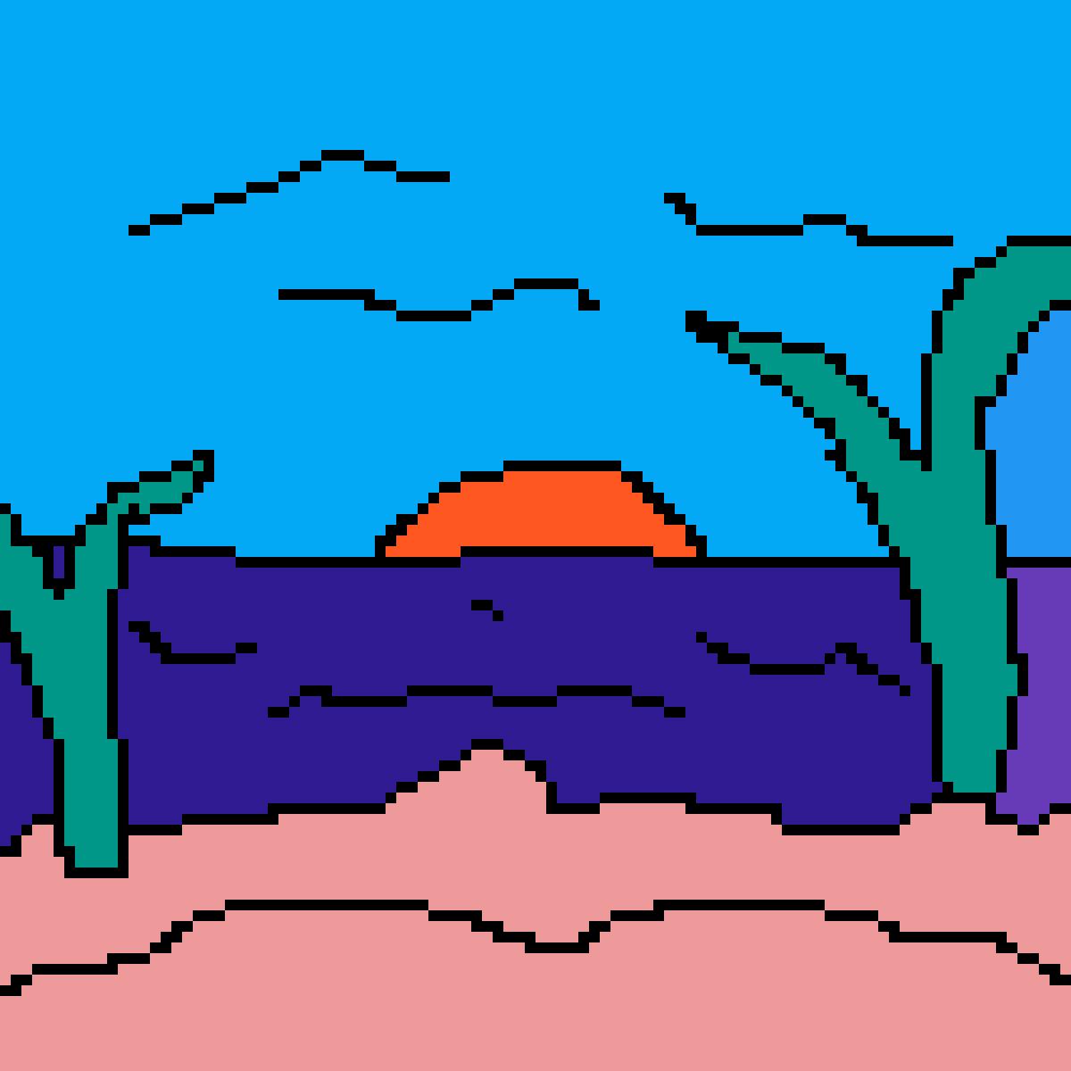 sandy beach by Dtarawally