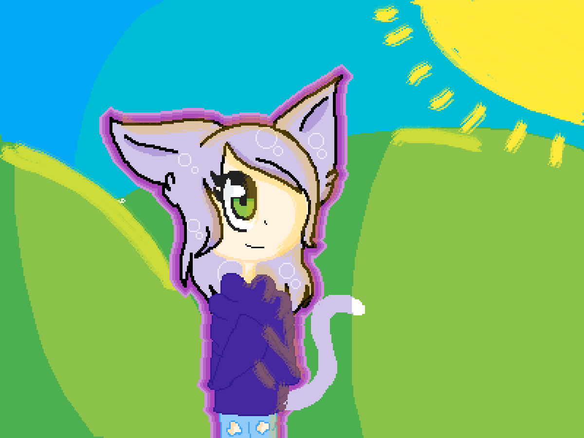 Drawing meh the new me meowz~ by Mycatisbad